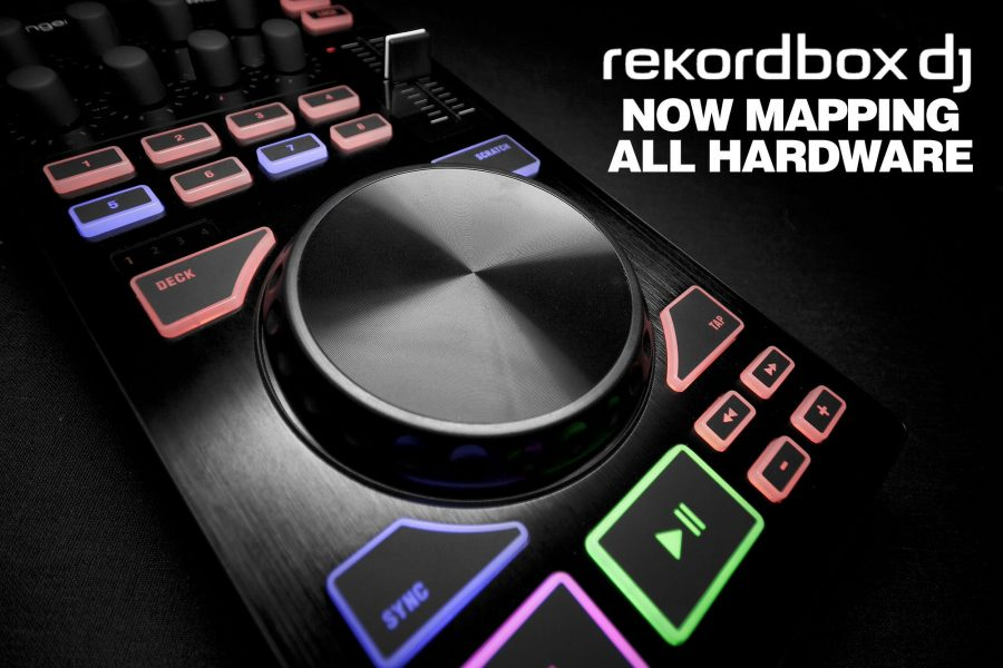 rekordbox DJ 4.0.6 — now hardware mapping with MIDI learn