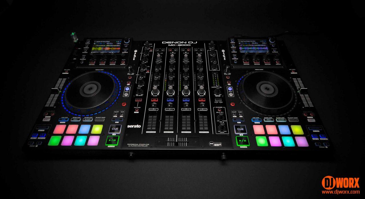 Denon DJ MCX8000 Serato DJ Engine Standalone controller review (17)