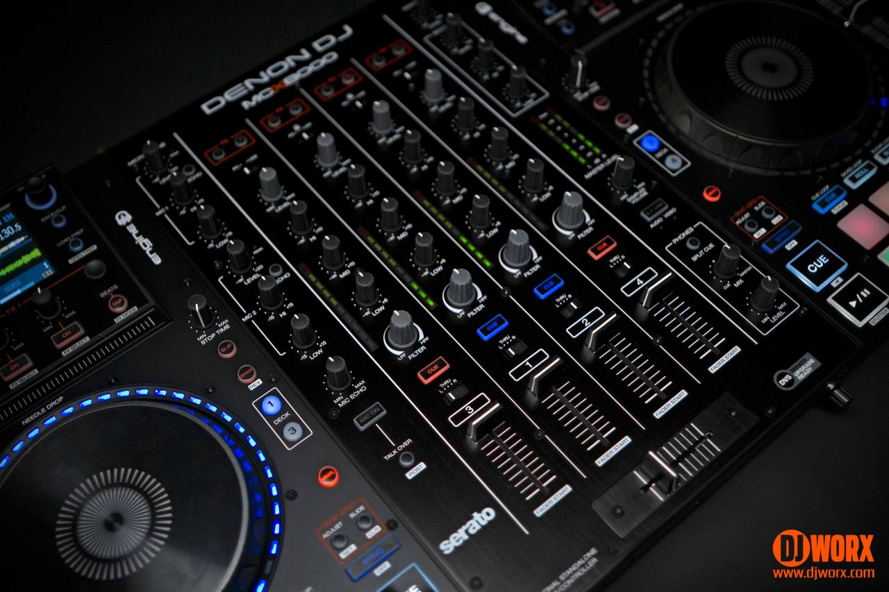 Denon DJ MCX8000 Serato DJ Engine Standalone controller review (11)