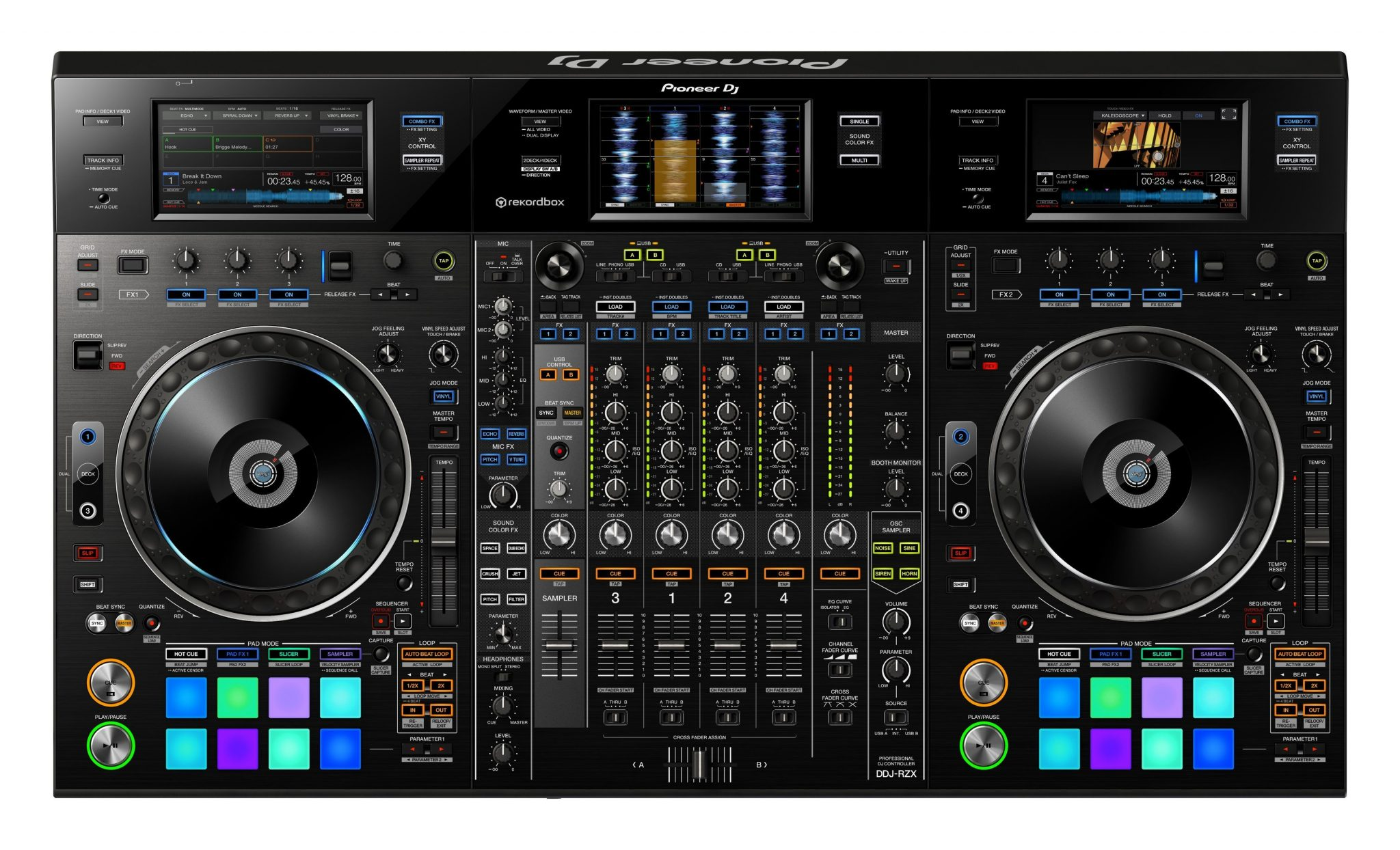 Pioneer DJ DDJ-RZX rekordbox video controller (4)