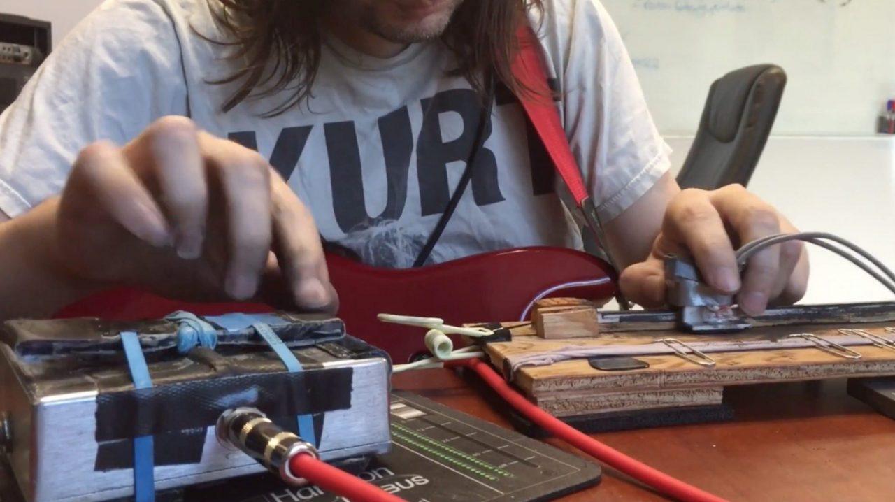 ScrubBoard cassette tape scratching (2)