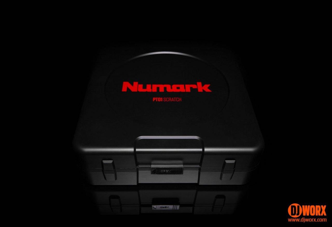 REVIEW: Numark PT01 Scratch portable turntable 3