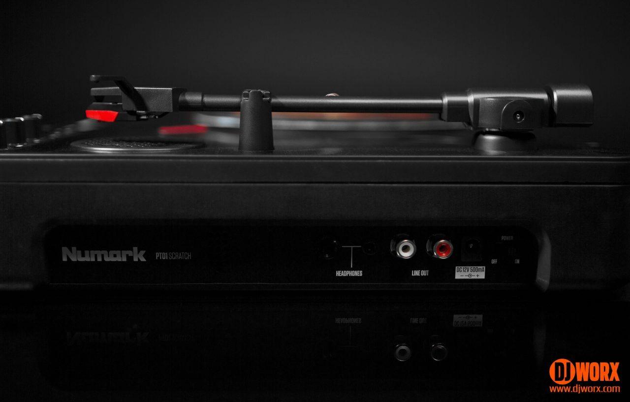 REVIEW: Numark PT01 Scratch portable turntable 6