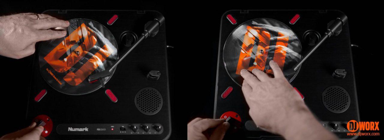 REVIEW: Numark PT01 Scratch portable turntable 10