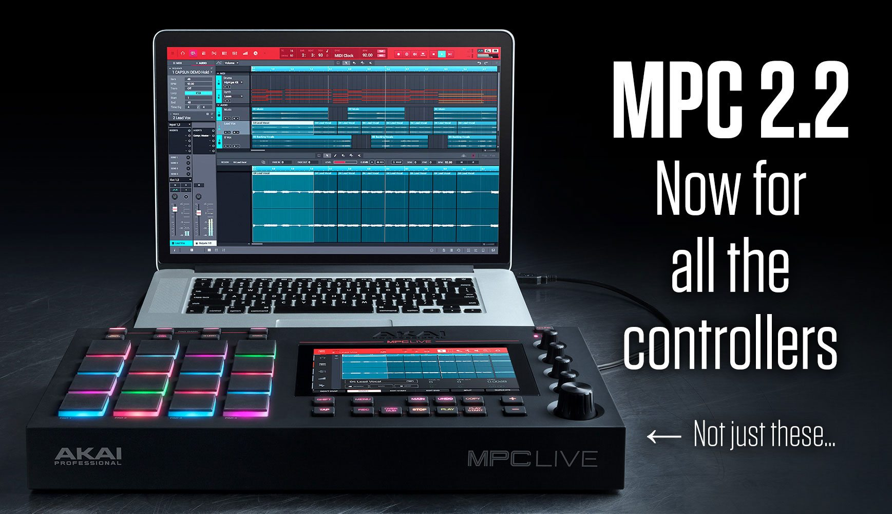 MPC v2 2 software turns any controller into an MPC | DJWORX