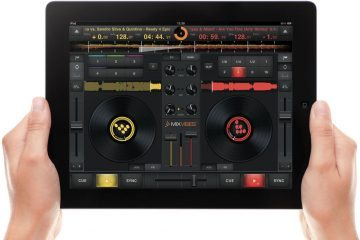 MixVibes' angry iPad app - CrossDJ 4