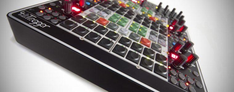 Glanzmann 4tracktrigger DJ MIDI Controller Traktor (15)