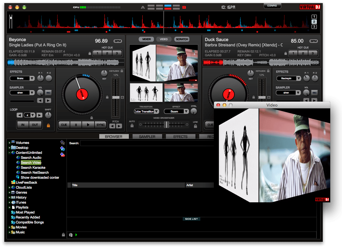 30 minutes with VirtualDJ 7 4 and ContentUnlimited | DJWORX
