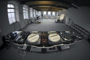 DJWORX studio worxlab turntables