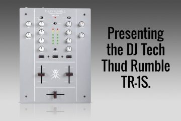 Thud Rumble S Invader Mixer With Built In Pc Djworx