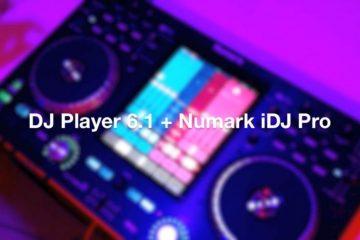 dj player 6.1 Numark idj pro
