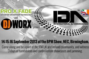IDA UK and Ireland DJWORX Pro X Fade