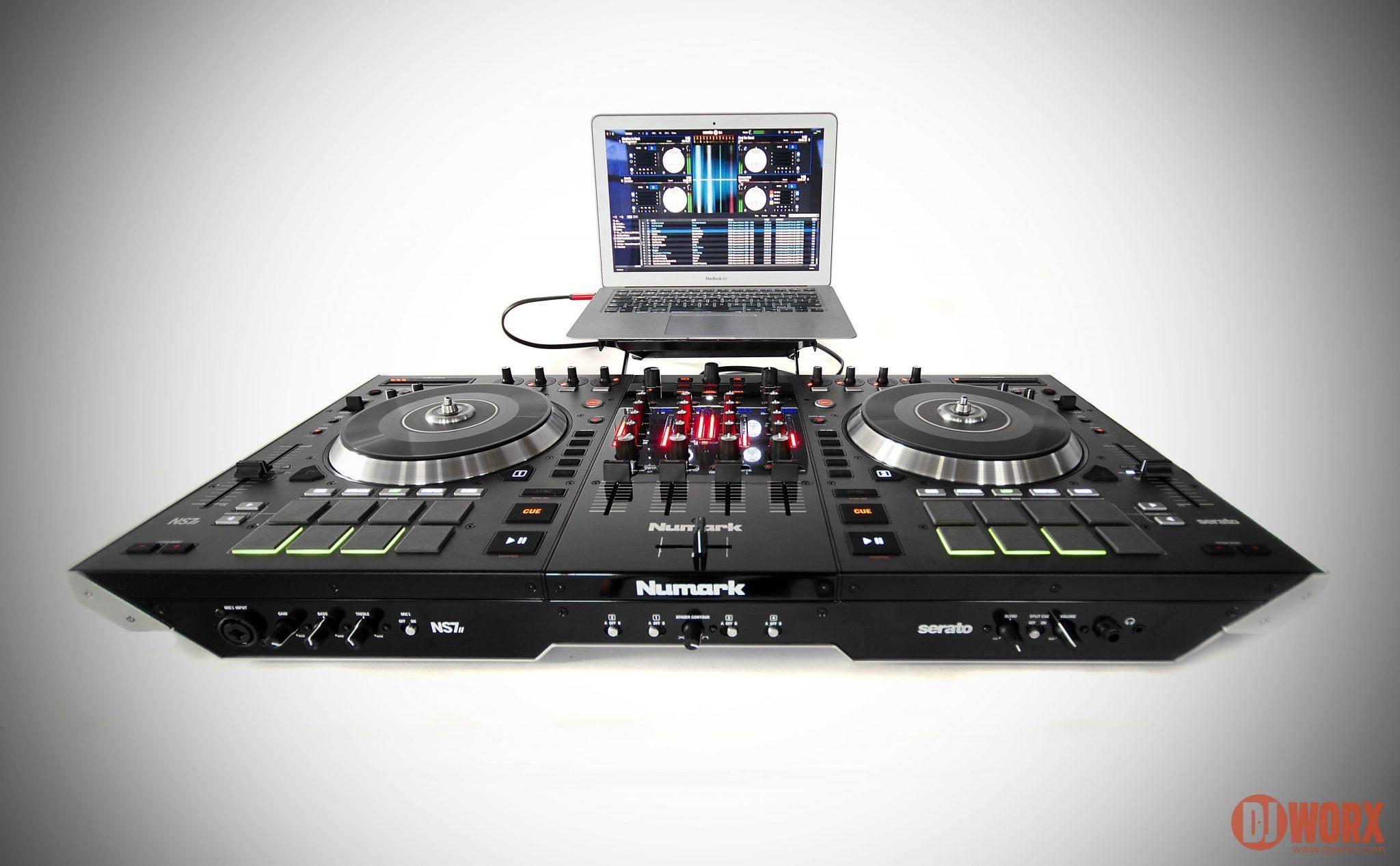 REVIEW: Numark NS7II Serato DJ Controller | DJWORX