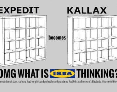 ikea expedit kallax comparison
