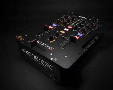 Allen & Heath Xone:23c USB Mixer Musikmesse 2014
