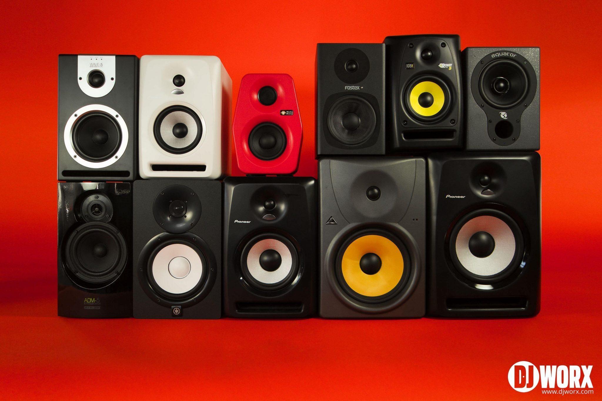 GROUP TEST: Entry level Studio Monitors for DJs | DJWORX