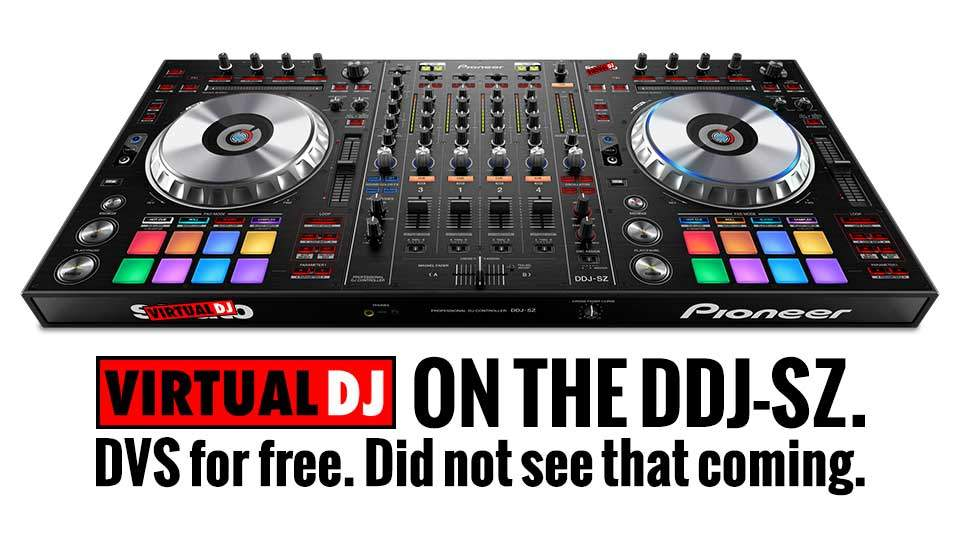 Pioneer DDJ-SZ and VirtualDJ 8 — officially friends | DJWORX