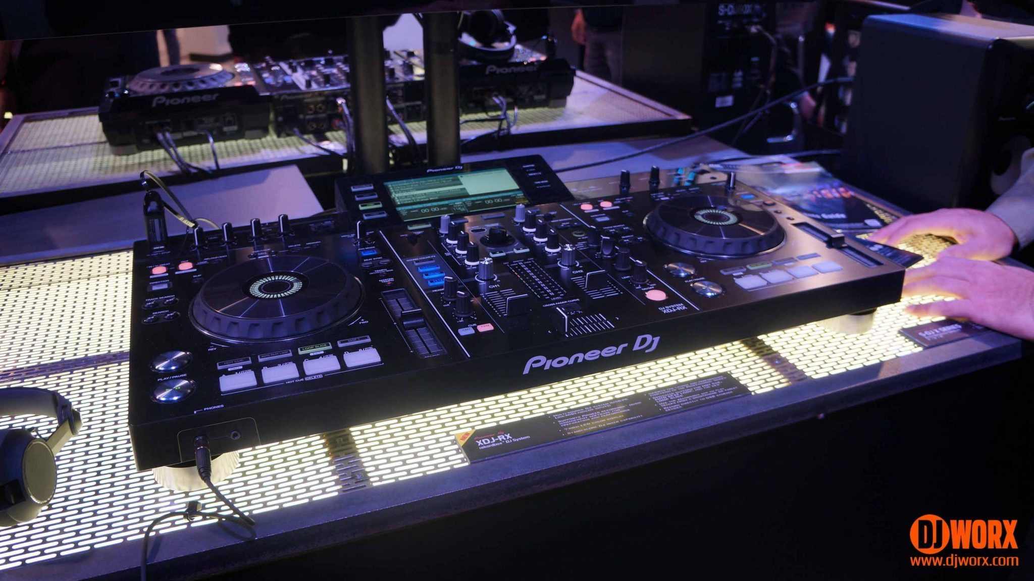 5cec82afbf7 NAMM 2015: Pioneer XDJ-RX and headphones | DJWORX