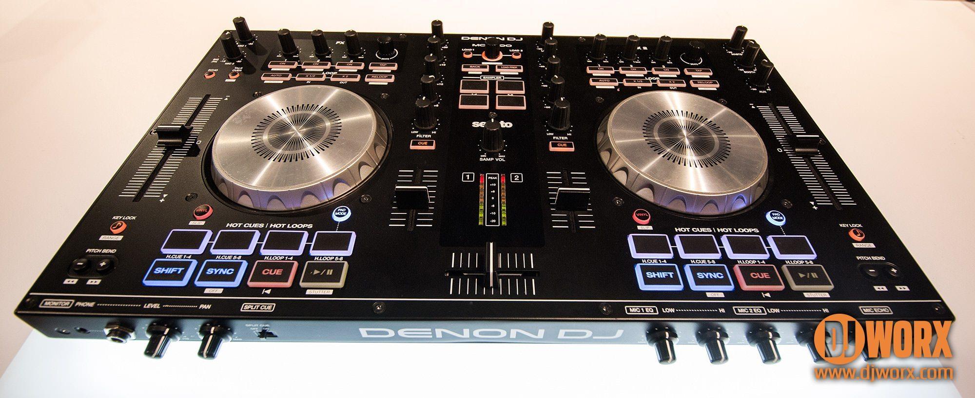 namm 2015  denon dj mc4000 controller  with pics