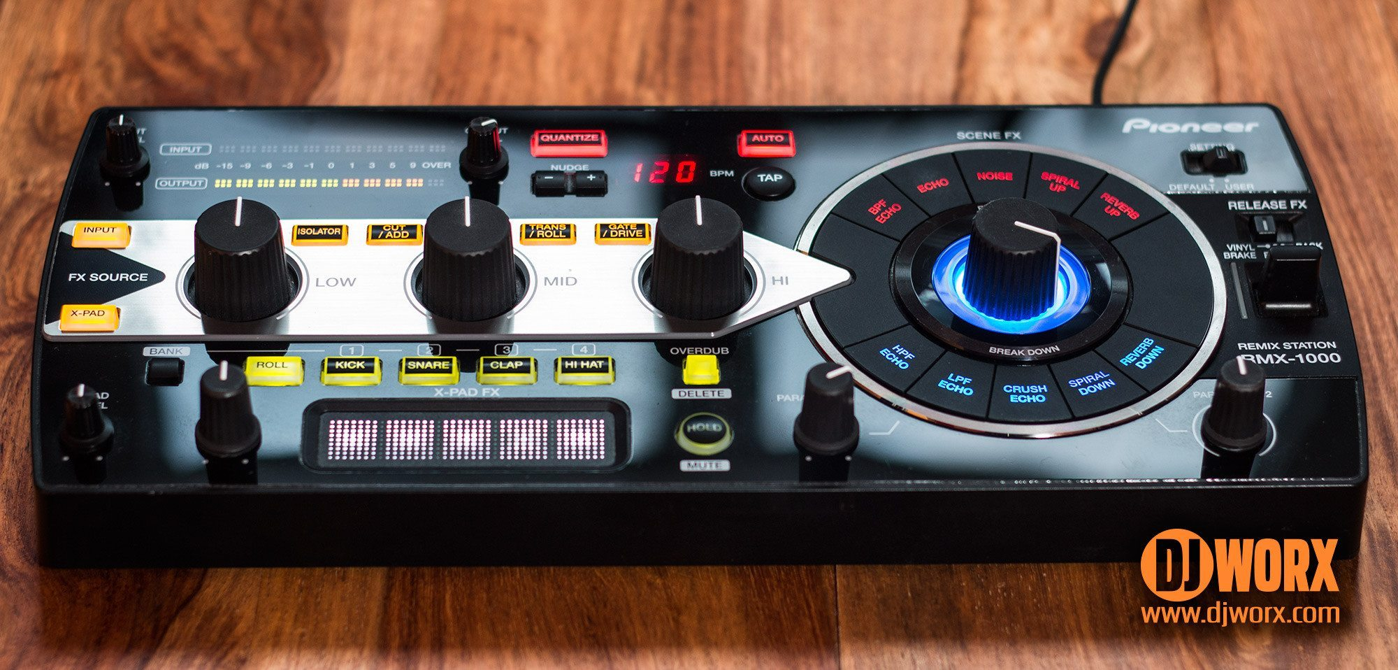 NEW DRIVERS: PIONEER RMX-1000 DJ CONTROLLER