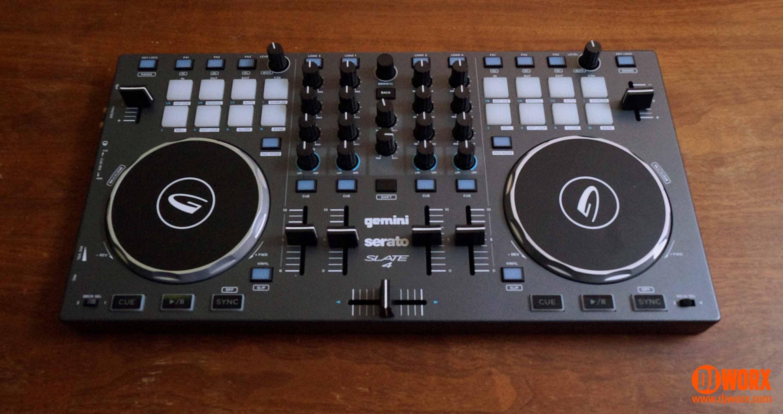REVIEW: Gemini Slate 4 Serato DJ Intro Controller   DJWORX