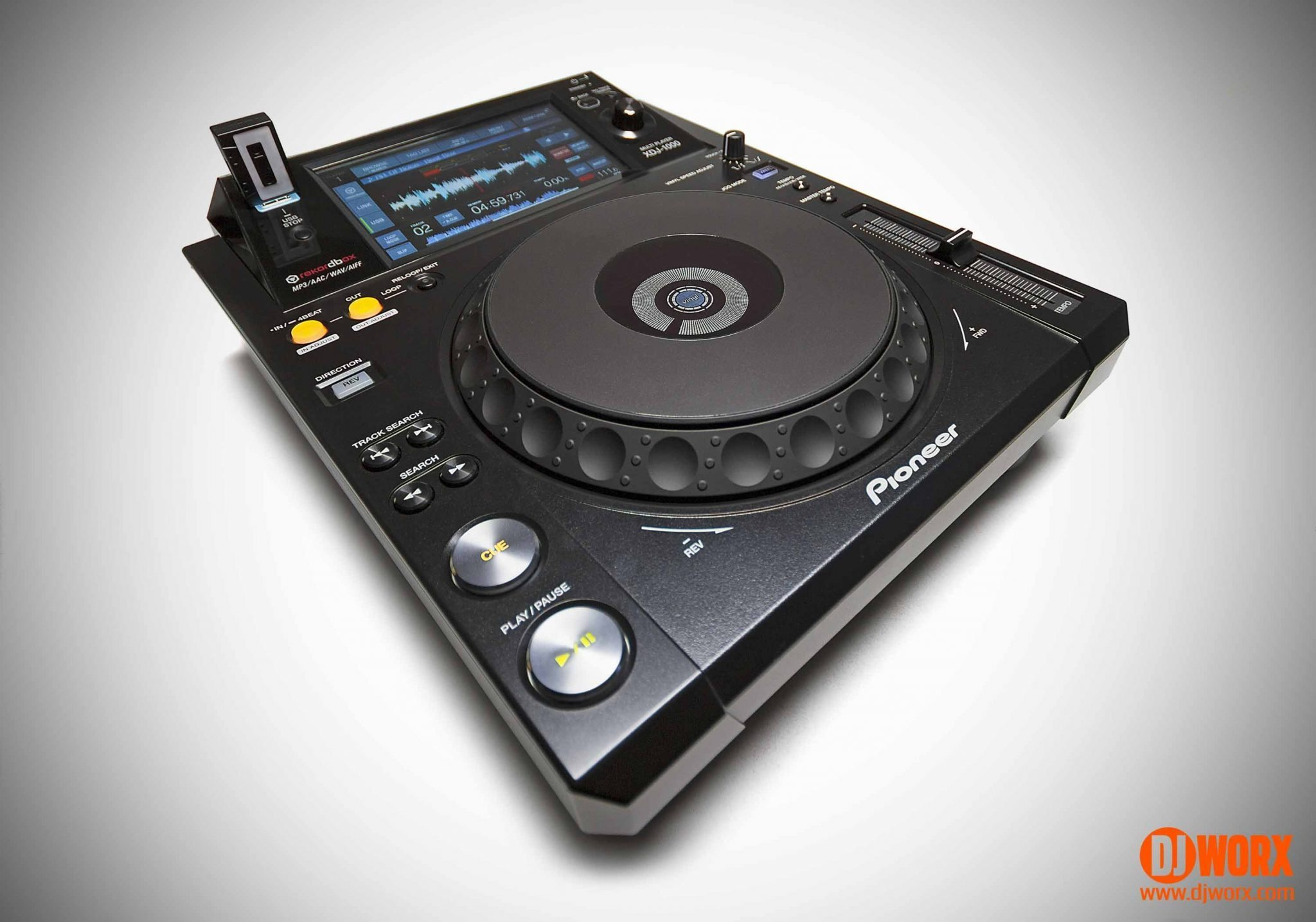 REVIEW: Pioneer XDJ-1000 multi player   DJWORX