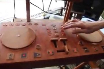 Fredly Wooden DJ DIY controller (7)