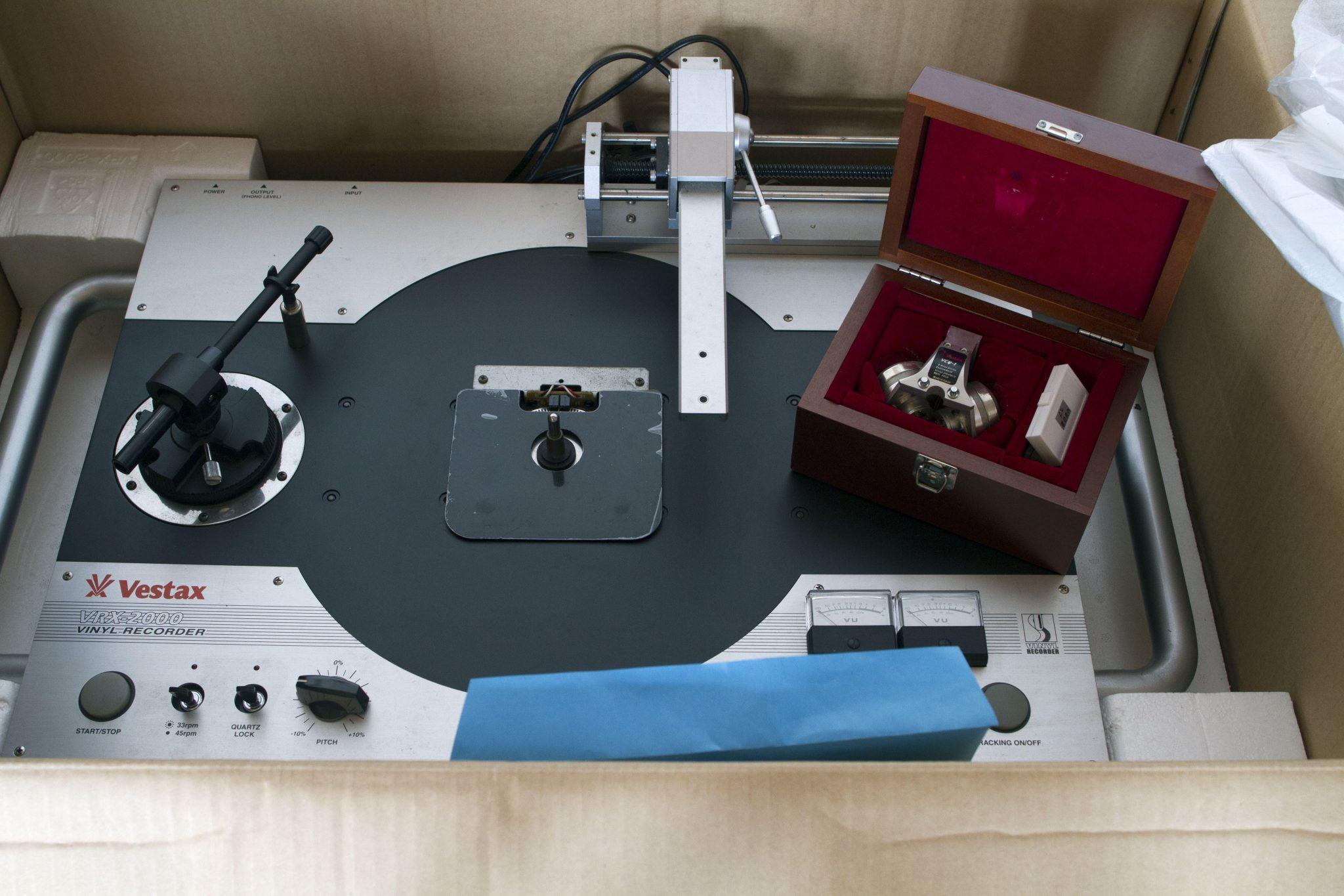 Sold Private Stash Sale Vestax Vrx 2000 Vinyl Cutter