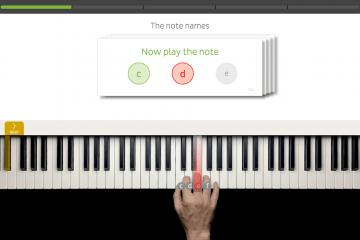 Skoove keyboard training (3)