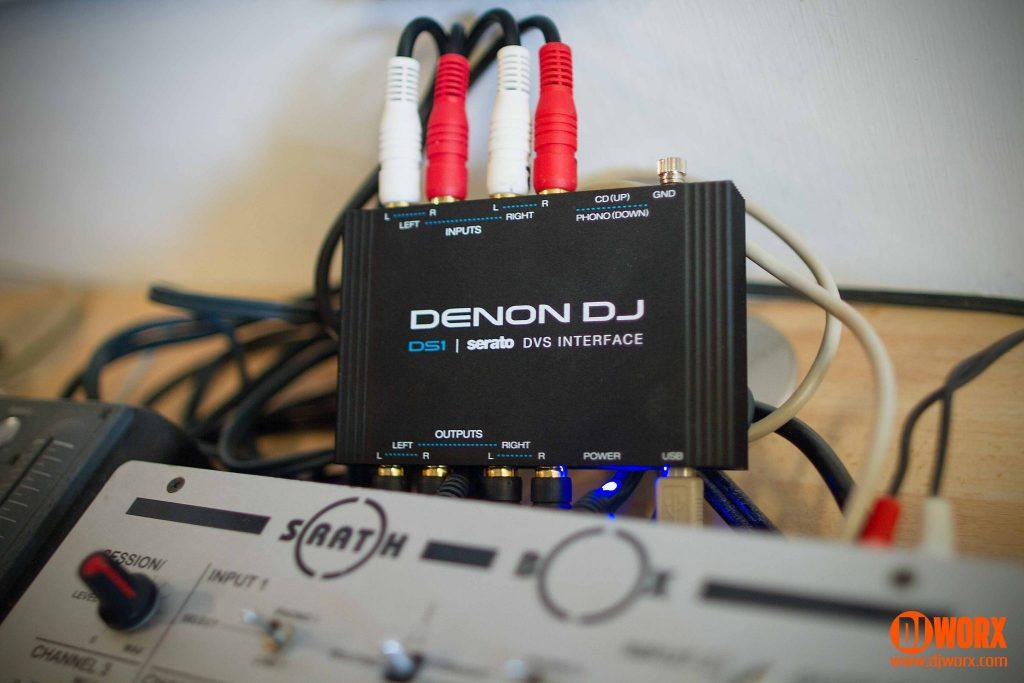 Denon DJ DS1 audio interface DVS Review Serato DJ (1)