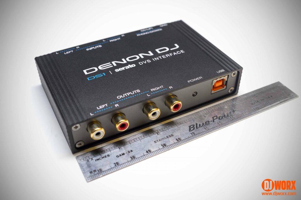 Denon DJ DS1 audio interface DVS Review Serato DJ (10)
