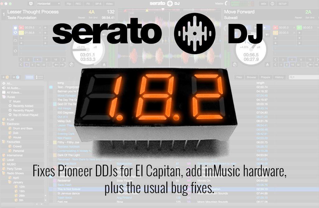 Beta OS X breaks Pioneer stuff — Serato fixes with v1 8 2 | DJWORX