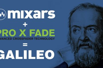 Mixars Pro x Fade Galileo crossfader fader