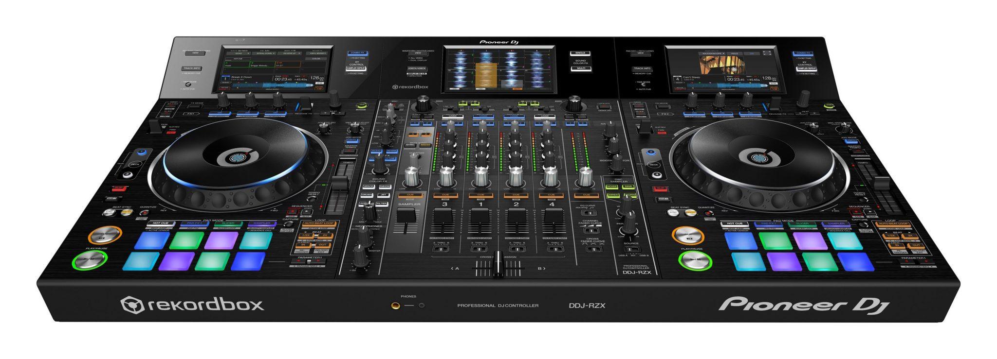 Mic drop pioneer dj ddj rzx screens and video djworx