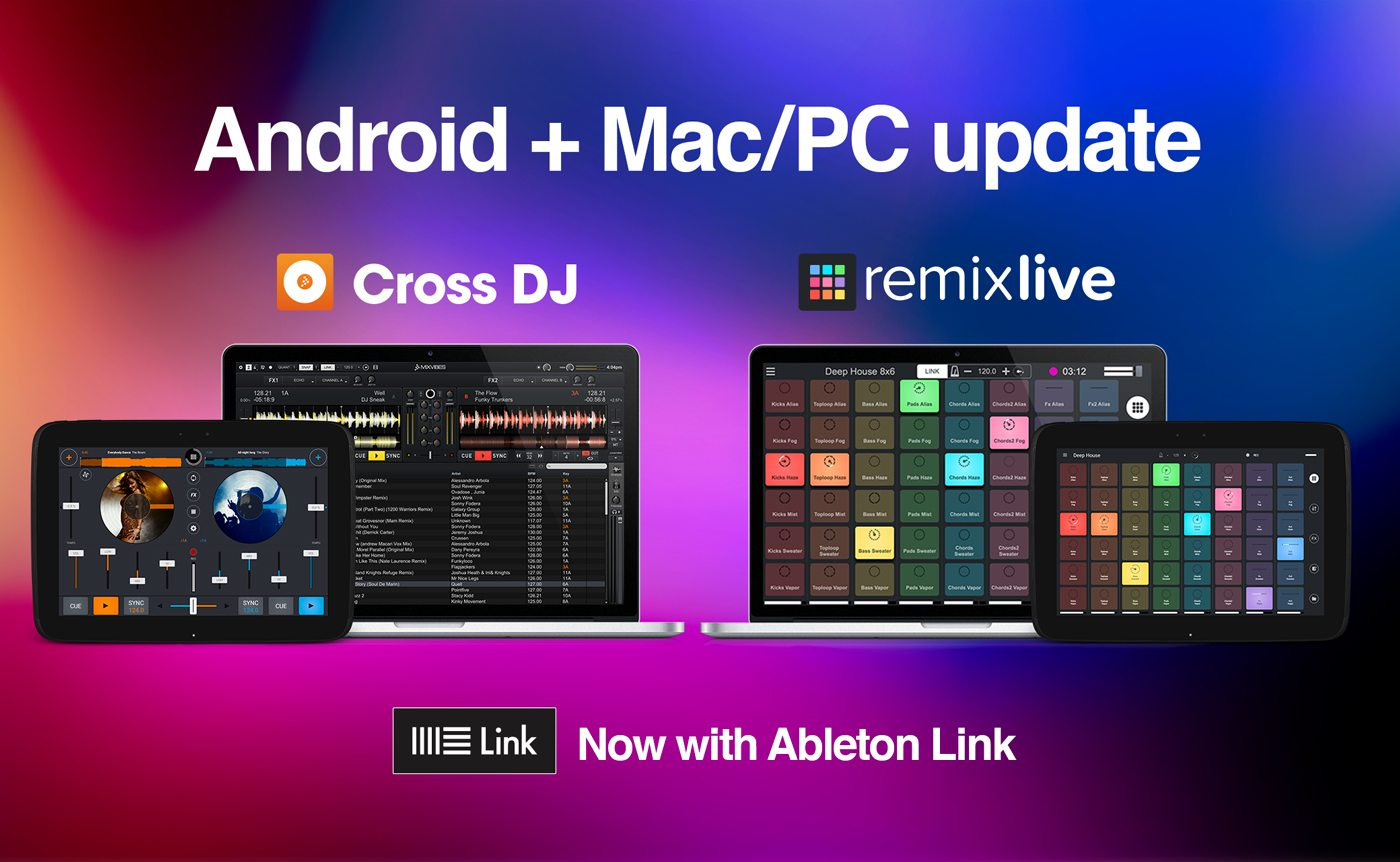Mixvibes adds Ableton Link to everything | DJWORX