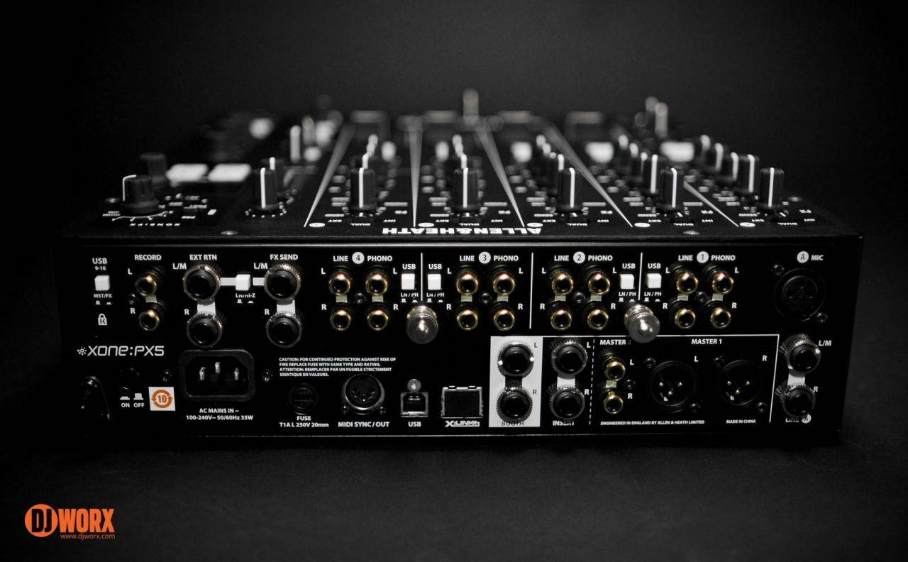 REVIEW: Allen & Heath Xone:PX5 Mixer 9