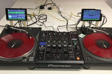PiDVS Raspberry Pi DVS turntable DJ (1)