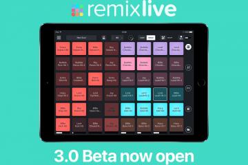 Mixvibes Remixlive 3 iOS beta
