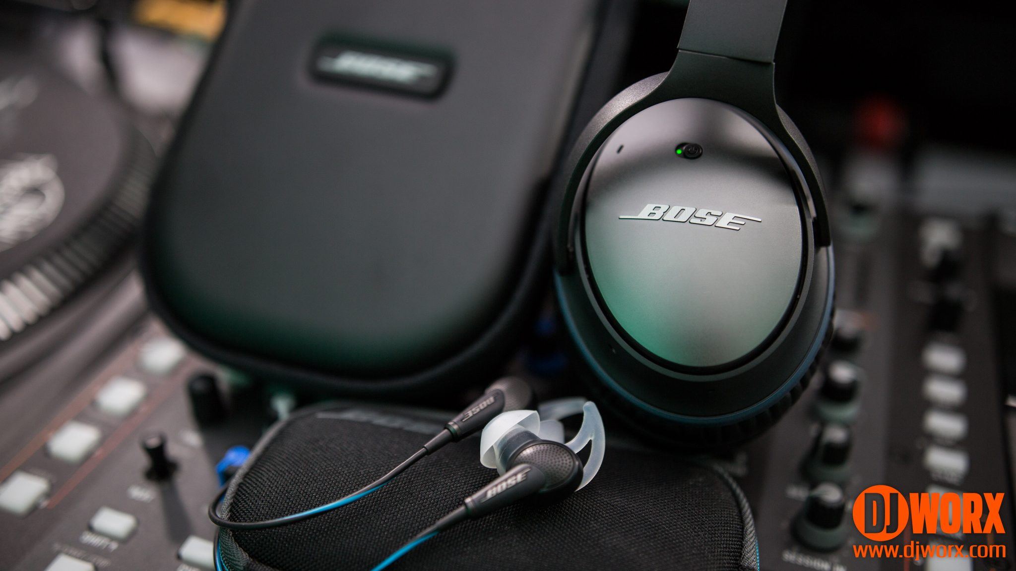 bad9efd14c2 REVIEW: Bose QC20 and QC25 noise-cancelling headphones | DJWORX