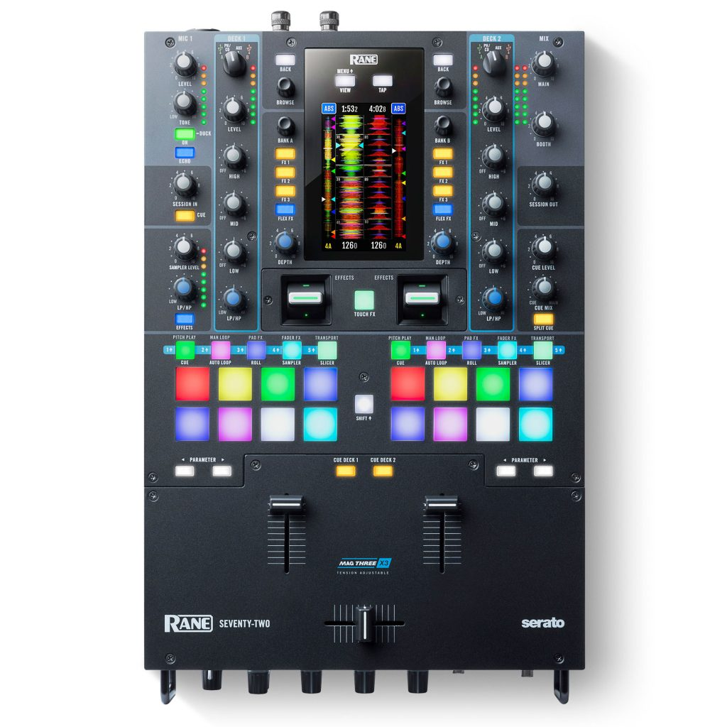 Rane Seventy Two Twelve Serato DJ mixer digital turntable controller MIDI (1)