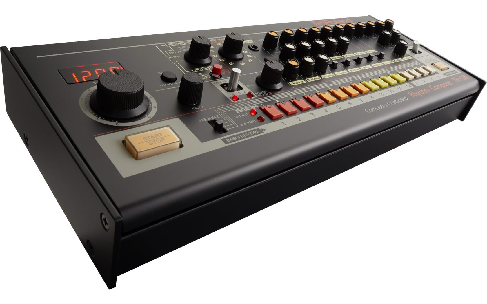 Roland TR-08 TR-808 electro acid drum machine (3)