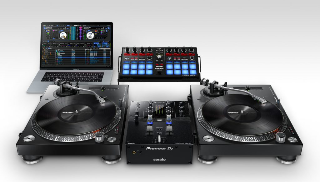 The Pioneer DJ DJM-S3 Serato DJ mixer… looks familiar? 7