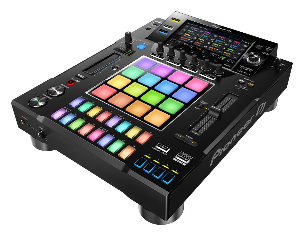 it 39 s real the djs 1000 is a sampler and sequencer in a cdj box djworx. Black Bedroom Furniture Sets. Home Design Ideas