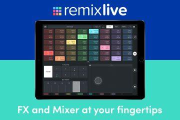 Mixvibes Remixlive 3.5 split screen ios