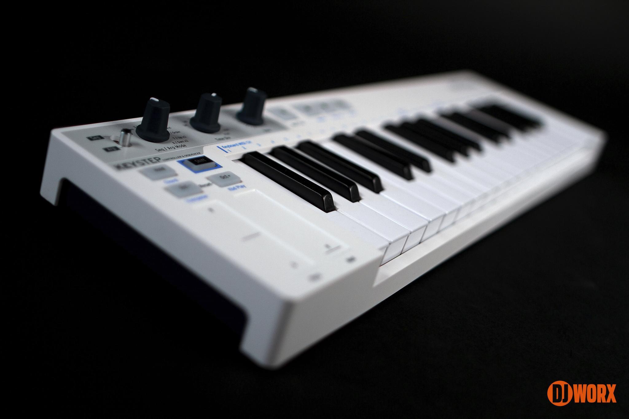 REVIEW: Arturia KeyStep MIDI keyboard | DJWORX