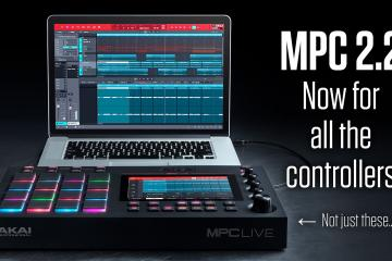 Akai professional mpc 2.2 software