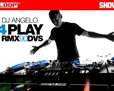 DJ Angelo 4PLAY four turntables