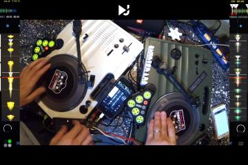 DJ Player Pro DVS Portablist Mode