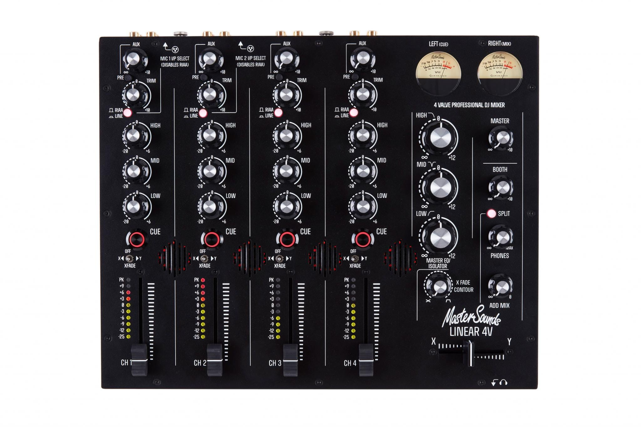 Mastersounds unleashes 4V mixers plus FX unit and more 3