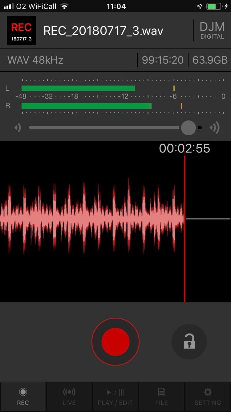 Pioneer DJ DJM-REC app iOS (6)